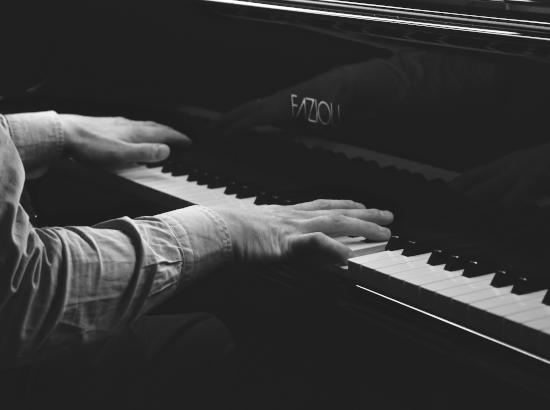 How to sanitize the keyboard on a Fazioli piano