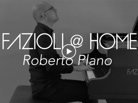Embedded thumbnail for ROBERTO PLANO FOR FAZIOLI @ HOME